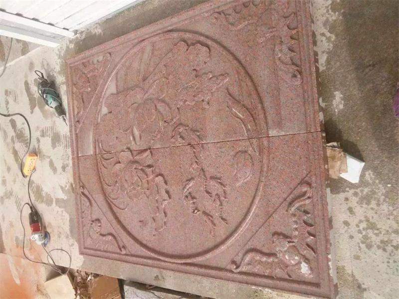 石岛红老八号浮雕